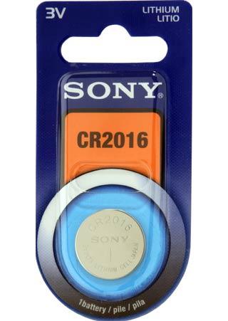 Ver Sony Lithium Coin  CR2016B1A
