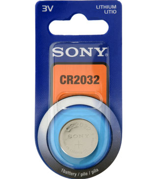 Ver Sony Lithium Coin CR2032B1A