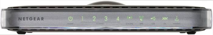 Netgear Rangemax Wireless-n Gigabit Modem Router