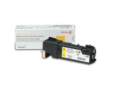 Xerox Phaser 6140  Cartucho De Toner Amarillo De Capacidad Normal  2000 Paginas