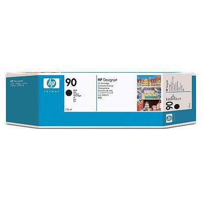 Ver HP CONSUMIBLE Cartucho de tinta negra de 775 ml HP 90