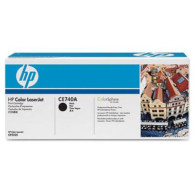 Hp Consumible Cartucho De Impresion Negro Hp Color Laserjet Ce740a