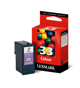 Lexmark 33 Colour Print Cartridge
