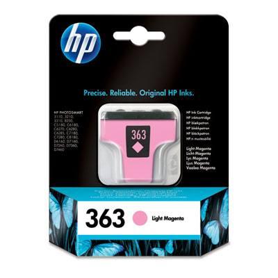 HP CONSUMIBLE Cartucho de tinta magenta claro HP 363