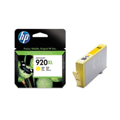 Ver HP CONSUMIBLE Cartucho de tinta amarilla HP 920XL Officejet