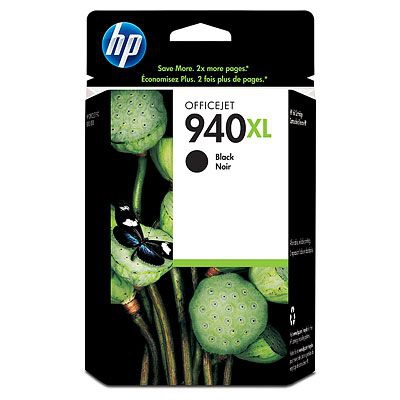 Ver HP CONSUMIBLE Cartucho de tinta negra HP 940XL Officejet