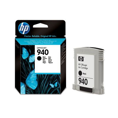 Ver HP CONSUMIBLE Cartucho de tinta negra Officejet HP 940