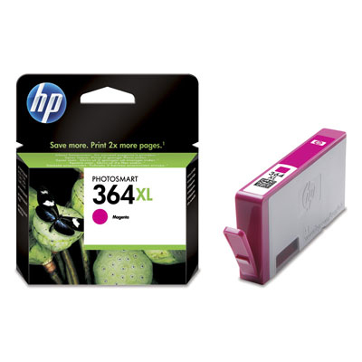 Hp Consumible Cartucho De Tinta Magenta Hp 364xl
