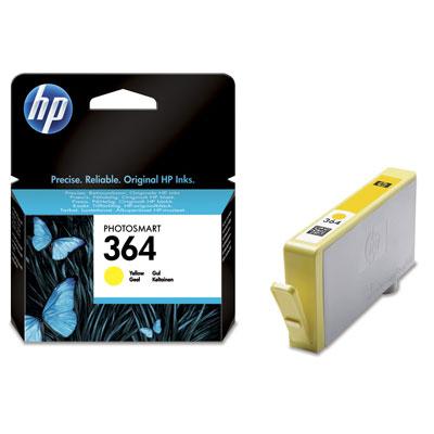 Ver HP CONSUMIBLE Cartucho de tinta amarilla HP 364