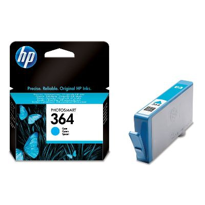 Ver HP CONSUMIBLE Cartucho de tinta cian HP 364