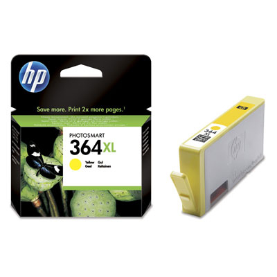 Ver HP CONSUMIBLE Cartucho de tinta amarilla HP 364XL