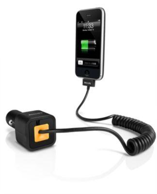 Philips Dlm2205 Para Iphone Y Ipod Cargador Para El Coche