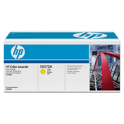 HP CONSUMIBLE Cartucho de impresion amarillo HP Color LaserJet CE272A