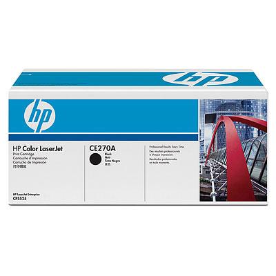 Ver Cartucho de impresion negro HP Color LaserJet CE270A