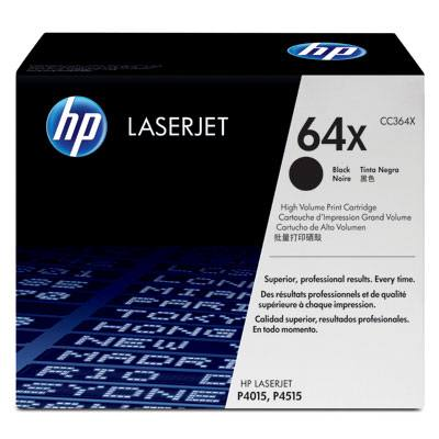 Ver HP CONSUMIBLE LaserJet CC364X Contract Black Print Cartridge