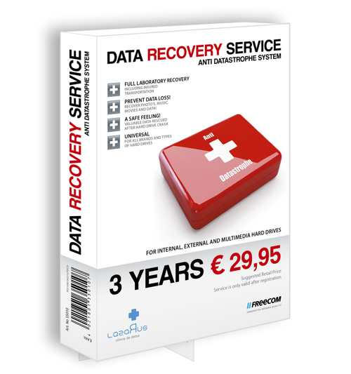 Freecom Data Recovery Service