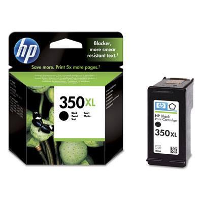 Ver HP CONSUMIBLE Cartucho negro de inyeccion de tinta HP 350XL con tinta Vivera