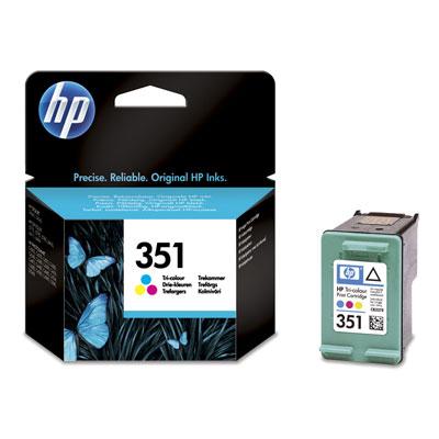 Ver Cartucho de inyeccion de tinta tricolor HP 351