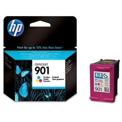 Ver HP CONSUMIBLE Cartucho de tinta tricolor Officejet HP 901
