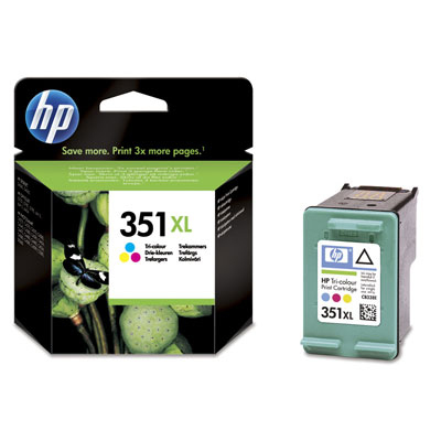Hp Consumible Cartucho Tricolor De Inyeccion De Tinta Hp 351xl
