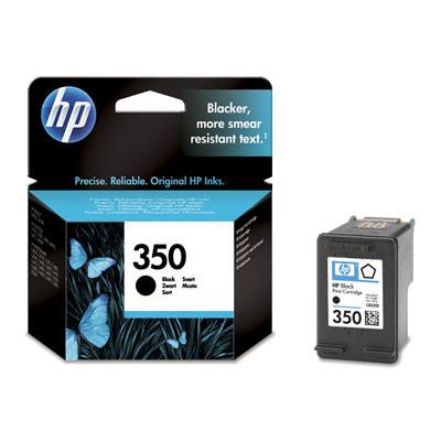 Hp Consumible Cartucho Negro De Inyeccion De Tinta Hp 350