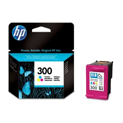 Ver HP CONSUMIBLE Cartucho de tinta tricolor HP 300