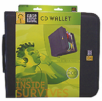 Case Logic Nylon 208 Capacity Cd Wallet