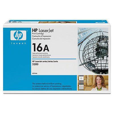 HP CONSUMIBLE 16A Black LaserJet Toner Cartridge