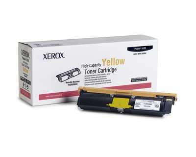 Xerox Toner Amarillo De Alta Capacidad  4500 Paginas