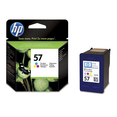 Ver HP CONSUMIBLE cartucho tricolor de inyeccion de tinta HP 57  17 ml