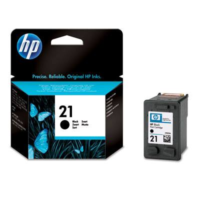 HP CONSUMIBLE Cartucho negro de inyeccion de tinta HP 21