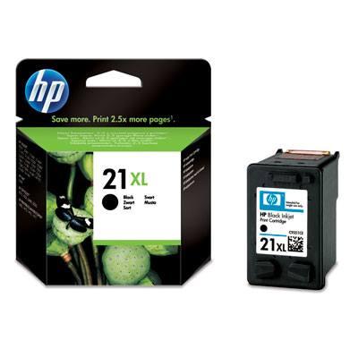 HP CONSUMIBLE Cartucho de impresion para inyeccion de tinta negra HP 21XL