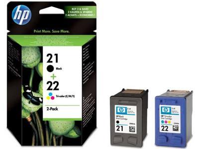 Hp Consumible Cartuchos De Impresion Para Inyeccion De Tinta En Paquetes Combinados Hp 21