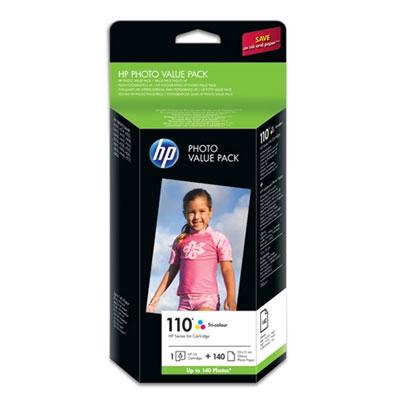 Hp Consumible Paquete Eco De Papel Fotog Hp Serie 110 - 140 Hojas