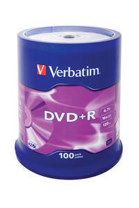 Verbatim Dvd R Matt Silver 43551