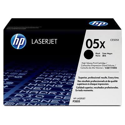 HP CONSUMIBLE Cartuchos de impresion negros de paquete doble HP LaserJet CE505X