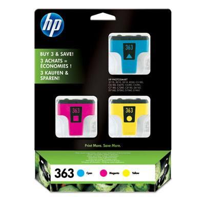 Ver HP CONSUMIBLE Paquete de 3 cartuchos de tinta amarillo