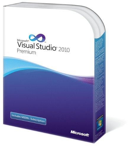 Visualstudio 2010 Premium   Msdn  Sa  Olp-nl 9ed-00056