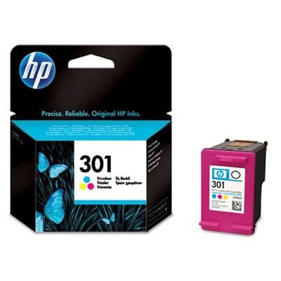 Ver HP CONSUMIBLE Cartucho de tinta tricolor HP 301