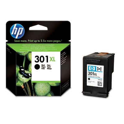 HP CONSUMIBLE Cartucho de tinta negra HP 301XL
