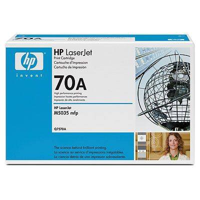 Ver HP CONSUMIBLE 70A Black LaserJet Toner Cartridge