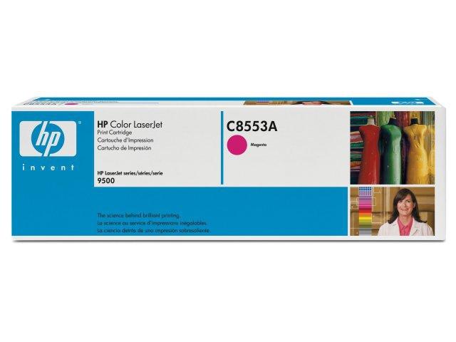 Hp Consumible Cartucho De Impresion Magenta Para Hp Color Laserjet C8553a