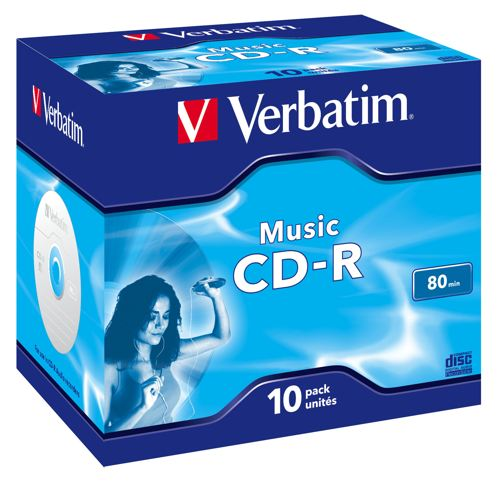 Ver Verbatim Music CD-R