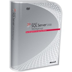 Microsoft Sql Server 2008 R2 Workgroup Edition  32-64bit  Es  Dvd