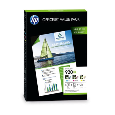 Ver Value Pack HP 920XL Officejet 50 hojas