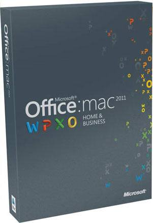 Microsoft Office Mac Home Business 2011  Dvd  En  2pk