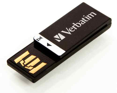 Verbatim 4gb Clip-it Usb Drive