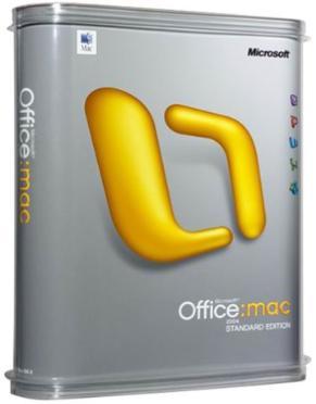 Office Mac 2011 Standard  Olp  Edu