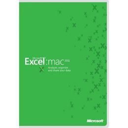 Excel Mac 2011  1u  Gov  Olp-d
