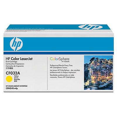 Ver Cartucho de impresion amarillo HP Color LaserJet CF032A